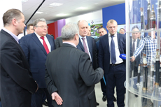"NEPES RUS luminaires were represented to the delegation of JSC ""Gazprom"""