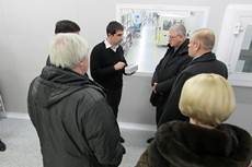 "NEPES RUS production was visited by the top managers of Joint-Stock Bank ""RUSSIA"""